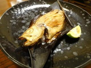 太郎源 - 赤むつ(のどぐろ)の塩焼き(半身)