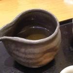 海鮮茶屋 一鮮 - お茶漬け用 出汁ポット アップ♪w