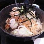 海鮮茶屋 一鮮 - 鰻ご飯に薬味を振ってみた♪w