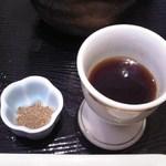 海鮮茶屋 一鮮 - 山椒 & 鰻蒲焼きのタレ アップ♪w