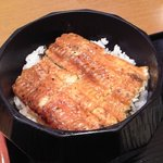 海鮮茶屋 一鮮 - ミニおひつ入り鰻丼 アップ♪w