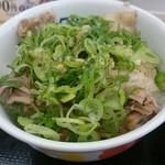 42867621 - たっぷりねぎ塩丼450円(2015/10)