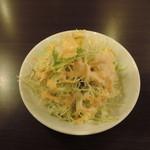 サンガム - ランチセットのサラダ