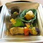 京料理 かじ - 料理写真:季節の前菜