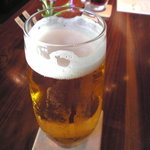 茅乃舎 - 「生ビール」800円