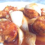ふあんてん - 料理写真:酢豚〜♪( ´θ.`)ノ