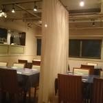 Ke:miyu 恵比寿 - 店内   テーブル席