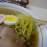 麺や 豊吉 - 麺アップ