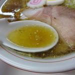 麺や 豊吉 - スープアップ