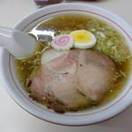 麺や 豊吉 - 醤油ラーメン 450円