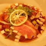 紫 くろ喜 - 鴨そば(細麺)900円