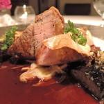 AKI NAGAO - 【2015年10月10日】ディナー(コースのメイン、お肉~~♪)