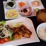 リラクゼーションカフェシャンドゥルール - 週替わりランチ