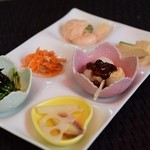 リラクゼーションカフェシャンドゥルール - 週替わりランチの前菜