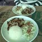 ブラジル食堂 光 - 料理写真:本日のランチはビーフ