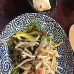 沖縄料理 かりゆし - ミミガーサラダ
