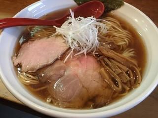 平右衛門 - 生醤油ラーメン(大盛り)