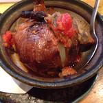 野菜食堂 - 玉ねぎの丸焼き