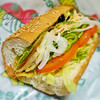 サブウェイ - 料理写真:アボカドベジ。野菜大盛り