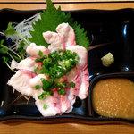 海の幸 美味 - サメ刺生酢
