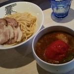 42882653 - 濃豚特製味噌伽哩つけ麺(1070円)です。2015年9月