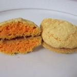 エクレール・ド・リーヴ - プチダックワーズ オレンジ