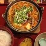 ジョイフル - 味噌チゲ定食