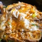 かんさい - 料理写真:肉天丼