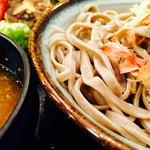 マル金そば - 天おろし 蕎麦(∗ ˊωˋ ∗)