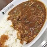 CoCo壱番屋 - 近江牛入り牛すじどて煮カレー(1辛) 895円