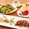 AZU - 料理写真:お昼の黒毛和牛ステーキのランチコースです。気の合うご友人と、ゆったりとした時間をお過ごしください。