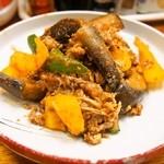 おたやん - 牛肉と茄子のピリ辛炒め
