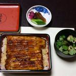 うなぎ・日本料理 ゑびす家 - 鰻重、肝吸、香の物