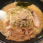 桜木屋 - ネギ味噌ラーメン