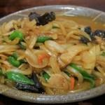 徳萬殿 - 玉葱カレー