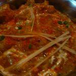 インディアン・レストラン Taz Mahal - ジャルフレッジ(¥1200)主食とサラダ付