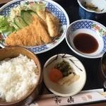 食事処・和嶋 - チキンカツ定食(830円)