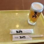 五ェ門 - 生ビール