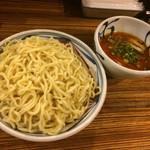 麺鮮醤油房 周月 - 辛味噌つけそば  中盛り〜(*^◯^*)♪