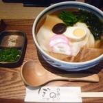 42892747 - 京湯葉かやくしっぽく 冷出汁820円 2玉+150円