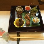 花れんこん - 結婚記念日は、いつもここで季節料理をいただきます。この後の松茸の土瓶蒸しがまた最高です。  27周年記念(^o^)/