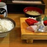にし与 - お刺身の定食