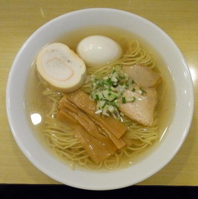 函館塩ラーメン 五稜郭 - ラーメン+味玉 850円