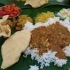 Restoran Saravanna - 料理写真:ご飯はストップの合図するまで盛ってくれます。