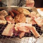 七輪焼肉 安安 - 最初に食べないといけない。その1