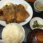 桂や - 生姜焼き定食