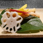 星のや 京都 ダイニング - 焼物 甘鯛オランダ焼き