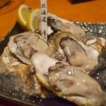 牡蠣と日本酒 四喜 - 北海道・厚岸