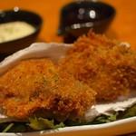 牡蠣と日本酒 四喜 - 牡蠣フライ ふっくらジューシー
