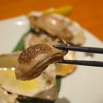 牡蠣と日本酒 四喜 - ぷりぷり焼き牡蠣